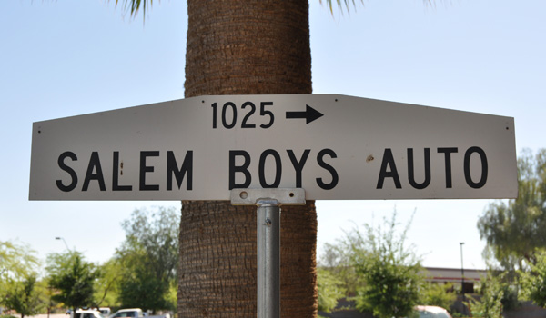 Salem Boys Sign